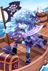 Sonic OC: Jenny the Jellyfish Pirate Cosplay by PixiTales