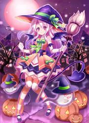 Happy Halloween Umi 2017 by PixiTales