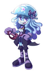 Sonic OC: Jenny the Jellyfish Pirate Sketch by PixiTales