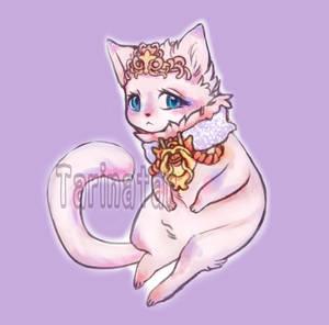 Pretty Kitty by tarinatart