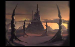 Distant Castle by Grimdar