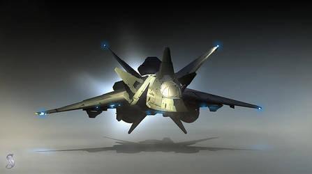 Iris vessel concept by Grimdar