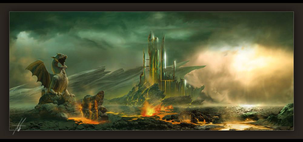 Base '24' - Lava Empire by Grimdar