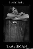 Christian Bale as Trashman by CABARETdelDIAVOLO