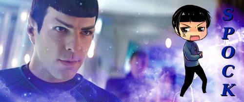 Chibi Spock by CABARETdelDIAVOLO