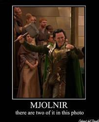 Mjolnir, not just an hammer... by CABARETdelDIAVOLO