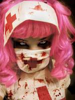 Zombie Nurse II by Cast-Down-Doll