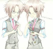 The Mizutenshi Twins' Game by NigaitosVampireGirl