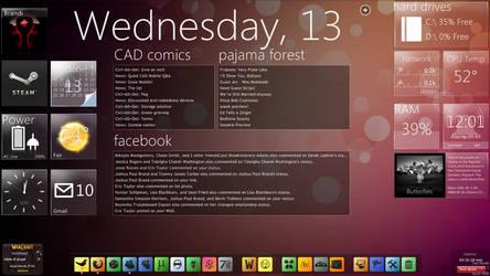 My Desktop VII by xf0rg0tt3nx
