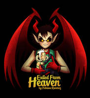 Exiled From Heaven - Lionex y Criatura hibrida by Mangakafabi