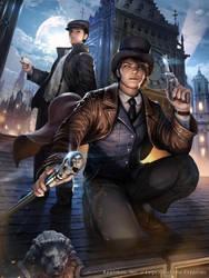 Sherlock Holmes by atomiiii
