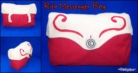 Rito Messenger Bag by Cristophine