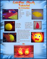 Calcifer Tutorial by Cristophine