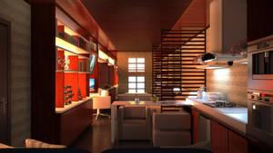 Room 10x3.5 by omegavandal