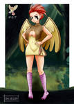 Pidgeotto / Roucoups by Oni-dessin