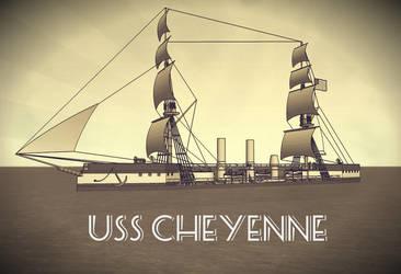 Happy New Year with USS Cheyenne by Dilandu