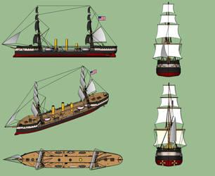 USS Cheyenne design by Dilandu