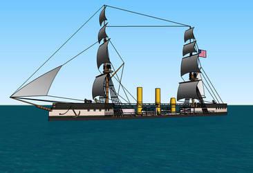 USS Cheyenne by Dilandu