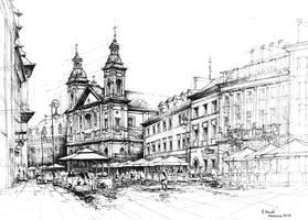 Ulica Freta, Warsaw by alekm