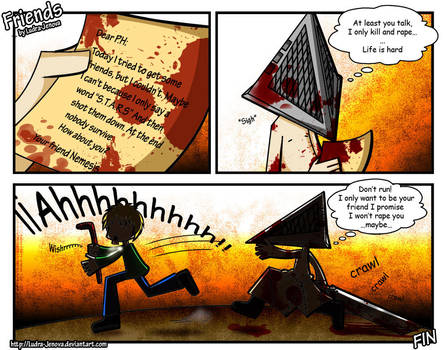 Friends +Silent Hill 2 by Ludra-Jenova