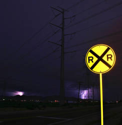 Lightning Crossing 2 by Delusionist