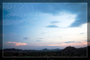 Estrella Cactus Sunsets - 5 by Delusionist
