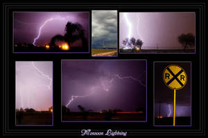 Monsoon Lightning - Poster by Delusionist