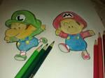 Mario And Luigi by RicCasino