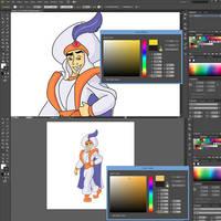 Aladdin in AI 2/5 by RicCasino