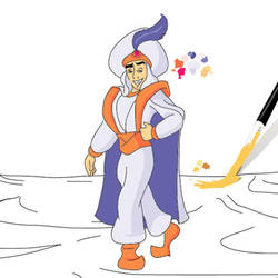 Aladdin in AI 3/5 by RicCasino