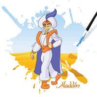 Aladdin in AI 5/5 by RicCasino