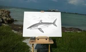 Deep Blue Sea Bradenton Florida by RicCasino