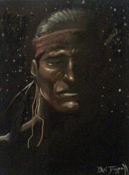 Native Man Dreaming by RNABrandEnt