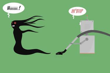 Robot versus Shadow by JesusAvenger