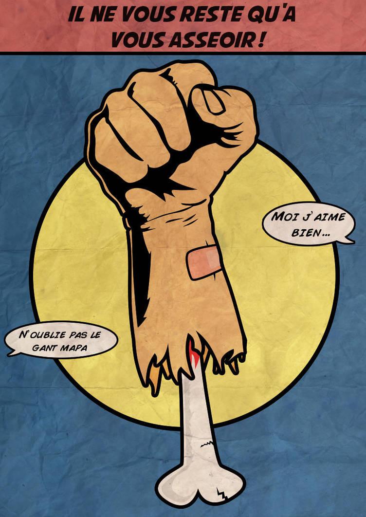 Fist fist fist by JesusAvenger