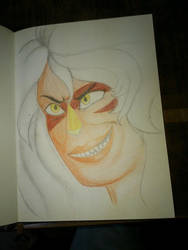 Jasper fast drawing by saxumsando
