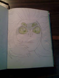 Malachite fast drawing by saxumsando