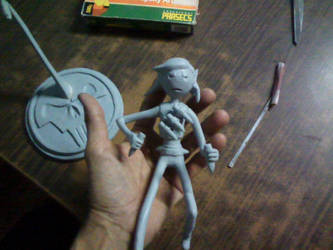 Marceline Stakes !  my Sculpture by saxumsando