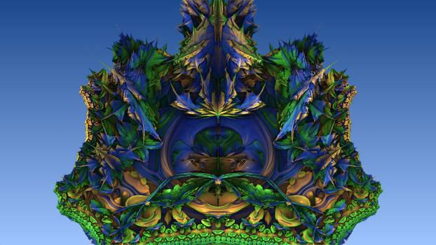 Mandelbulb Experiment 47 by shinji-dai