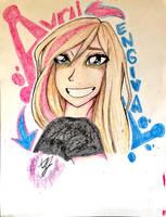 Avril Lavigne by Artfrog75
