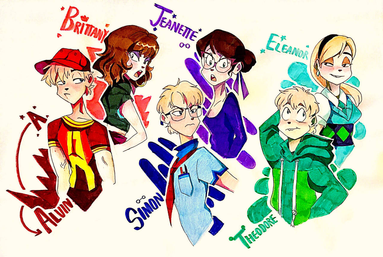 AATC- Chipmunks And Chipettes By Artfrog75 On DeviantArt