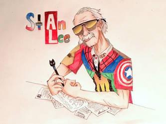 Stan Lee by Artfrog75
