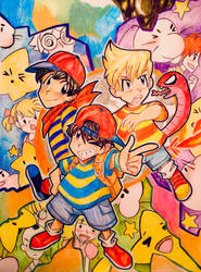 EARTHBOUND by Artfrog75