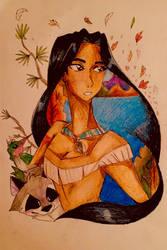 Pocahontas by Artfrog75