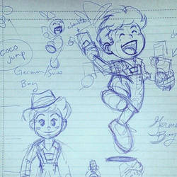 Coco Jump Concept Art by LilClaw