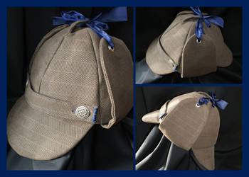 Deerstalker Hat by DeadWizard