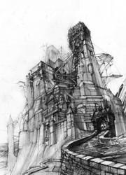 Imaginary Castle by NealDraper