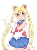 Sailor Moon by shimozuku