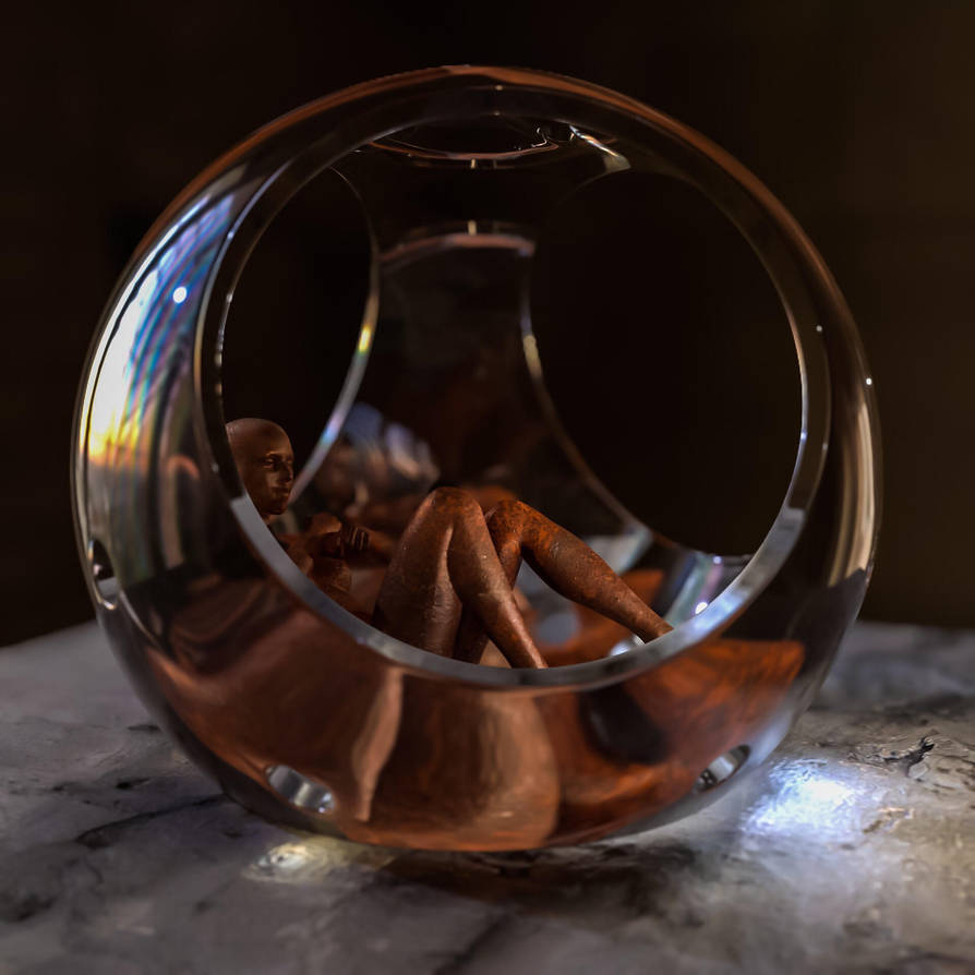 The Sphere by inkydigit