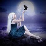 Allure of a Full Moon by Zankruti-Murray
